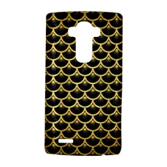 Scales3 Black Marble & Gold Brushed Metal Lg G4 Hardshell Case by trendistuff