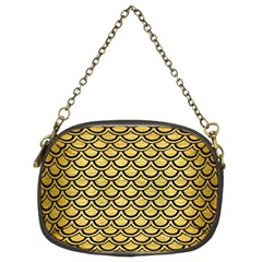 SCA2 BK MARBLE GOLD (R) Chain Purses (Two Sides)  by trendistuff