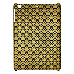 Scales2 Black Marble & Gold Brushed Metal (r) Apple Ipad Mini Hardshell Case by trendistuff