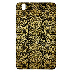 Damask2 Black Marble & Gold Brushed Metal Samsung Galaxy Tab Pro 8 4 Hardshell Case by trendistuff