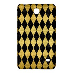 Diamond1 Black Marble & Gold Brushed Metal Samsung Galaxy Tab 4 (8 ) Hardshell Case  by trendistuff