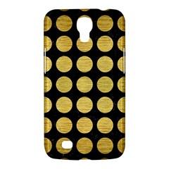 Circles1 Black Marble & Gold Brushed Metal Samsung Galaxy Mega 6 3  I9200 Hardshell Case by trendistuff