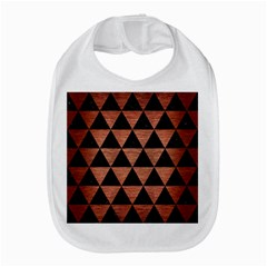 Triangle3 Black Marble & Copper Brushed Metal Bib by trendistuff