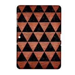 Triangle3 Black Marble & Copper Brushed Metal Samsung Galaxy Tab 2 (10 1 ) P5100 Hardshell Case  by trendistuff