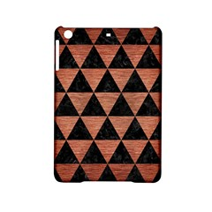 Triangle3 Black Marble & Copper Brushed Metal Apple Ipad Mini 2 Hardshell Case by trendistuff