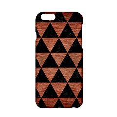 Triangle3 Black Marble & Copper Brushed Metal Apple Iphone 6/6s Hardshell Case by trendistuff