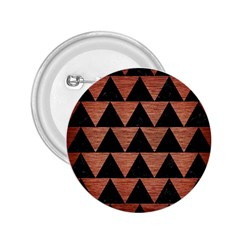 Triangle2 Black Marble & Copper Brushed Metal 2 25  Button by trendistuff
