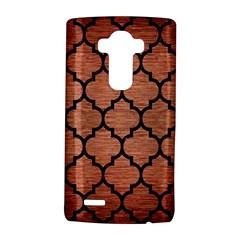 Tile1 Black Marble & Copper Brushed Metal (r) Lg G4 Hardshell Case by trendistuff