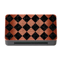 Square2 Black Marble & Copper Brushed Metal Memory Card Reader With Cf by trendistuff