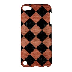 Square2 Black Marble & Copper Brushed Metal Apple Ipod Touch 5 Hardshell Case by trendistuff
