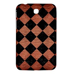 Square2 Black Marble & Copper Brushed Metal Samsung Galaxy Tab 3 (7 ) P3200 Hardshell Case  by trendistuff