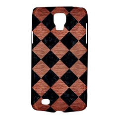 Square2 Black Marble & Copper Brushed Metal Samsung Galaxy S4 Active (i9295) Hardshell Case by trendistuff