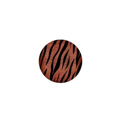 Skin3 Black Marble & Copper Brushed Metal (r) 1  Mini Magnet by trendistuff