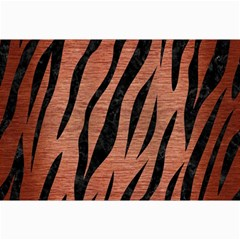 Skin3 Black Marble & Copper Brushed Metal (r) Collage 12  X 18  by trendistuff