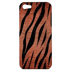 Skin3 Black Marble & Copper Brushed Metal (r) Apple Iphone 5 Hardshell Case by trendistuff