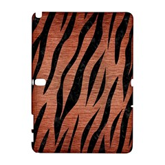Skin3 Black Marble & Copper Brushed Metal (r) Samsung Galaxy Note 10 1 (p600) Hardshell Case