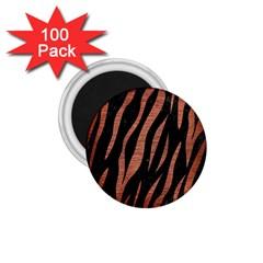 SKN3 BK MARBLE COPPER 1.75  Magnets (100 pack)  by trendistuff