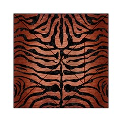Skin2 Black Marble & Copper Brushed Metal (r) Acrylic Tangram Puzzle (6  X 6 ) by trendistuff