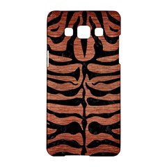 Skin2 Black Marble & Copper Brushed Metal (r) Samsung Galaxy A5 Hardshell Case  by trendistuff