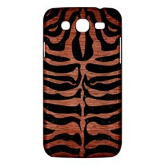 Skin2 Black Marble & Copper Brushed Metal Samsung Galaxy Mega 5 8 I9152 Hardshell Case  by trendistuff