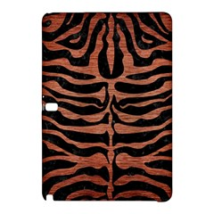 Skin2 Black Marble & Copper Brushed Metal Samsung Galaxy Tab Pro 12 2 Hardshell Case by trendistuff