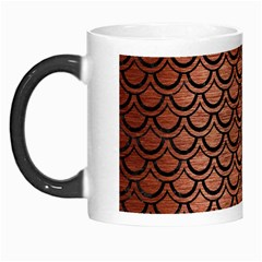 Scales2 Black Marble & Copper Brushed Metal (r) Morph Mug by trendistuff