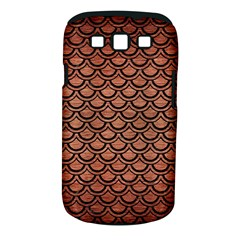 Scales2 Black Marble & Copper Brushed Metal (r) Samsung Galaxy S Iii Classic Hardshell Case (pc+silicone) by trendistuff