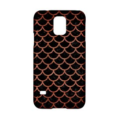 Scales1 Black Marble & Copper Brushed Metal Samsung Galaxy S5 Hardshell Case  by trendistuff