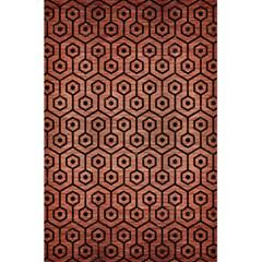 Hexagon1 Black Marble & Copper Brushed Metal (r) 5 5  X 8 5  Notebook by trendistuff