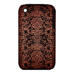 DMS2 BK MARBLE COPPER Apple iPhone 3G/3GS Hardshell Case (PC+Silicone) by trendistuff