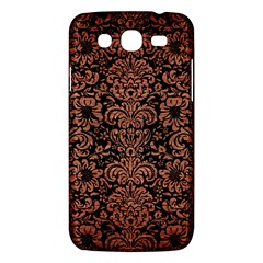 Damask2 Black Marble & Copper Brushed Metal Samsung Galaxy Mega 5 8 I9152 Hardshell Case  by trendistuff