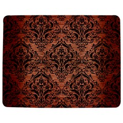 Damask1 Black Marble & Copper Brushed Metal (r) Jigsaw Puzzle Photo Stand (rectangular)