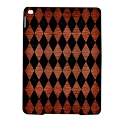 Diamond1 Black Marble & Copper Brushed Metal Apple Ipad Air 2 Hardshell Case by trendistuff
