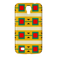 Connected Squares And Triangles 			samsung Galaxy Mega 6 3  I9200 Hardshell Case by LalyLauraFLM