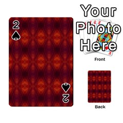 Brown Diamonds Pattern Playing Cards 54 Designs  by Costasonlineshop