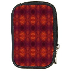 Brown Diamonds Pattern Compact Camera Cases