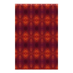 Brown Diamonds Pattern Shower Curtain 48  X 72  (small)