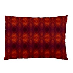 Brown Diamonds Pattern Pillow Cases (two Sides)