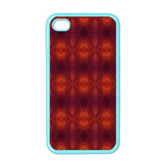 Brown Diamonds Pattern Apple iPhone 4 Case (Color) by Costasonlineshop