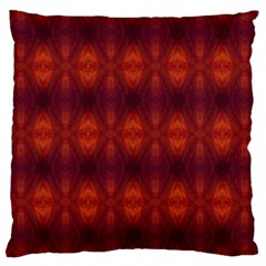 Brown Diamonds Pattern Large Cushion Cases (Two Sides)  by Costasonlineshop