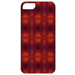 Brown Diamonds Pattern Apple Iphone 5 Classic Hardshell Case