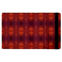 Brown Diamonds Pattern Apple Ipad 2 Flip Case