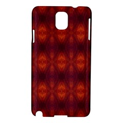 Brown Diamonds Pattern Samsung Galaxy Note 3 N9005 Hardshell Case