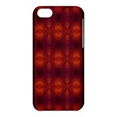 Brown Diamonds Pattern Apple iPhone 5C Hardshell Case by Costasonlineshop
