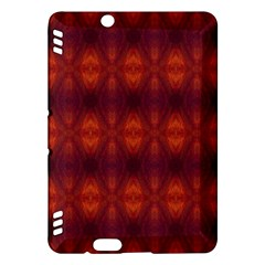 Brown Diamonds Pattern Kindle Fire HDX Hardshell Case by Costasonlineshop