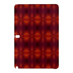 Brown Diamonds Pattern Samsung Galaxy Tab Pro 12 2 Hardshell Case by Costasonlineshop