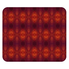 Brown Diamonds Pattern Double Sided Flano Blanket (small)  by Costasonlineshop
