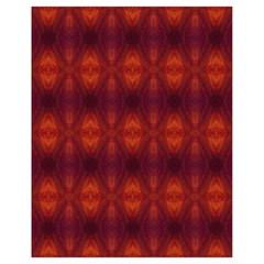 Brown Diamonds Pattern Drawstring Bag (small) by Costasonlineshop