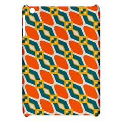 Chains And Squares Pattern 			apple Ipad Mini Hardshell Case by LalyLauraFLM