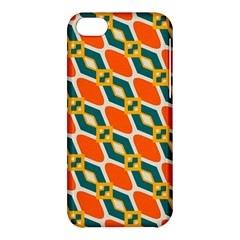 Chains And Squares Pattern 			apple Iphone 5c Hardshell Case by LalyLauraFLM